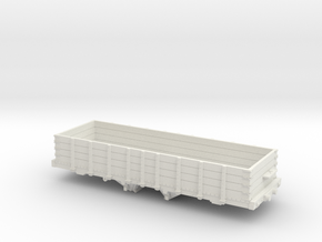 HKa 30' P&R Reading Railroad Coal Hopper Gondola H in White Natural Versatile Plastic: 1:48 - O