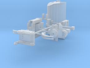 Kit x18 Originele S60 Snelwissel in Smooth Fine Detail Plastic