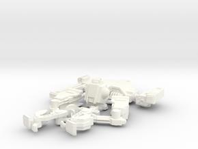 "Mk3 FX43-06 ""Striker"" Automated Battlesuit in White Processed Versatile Plastic"