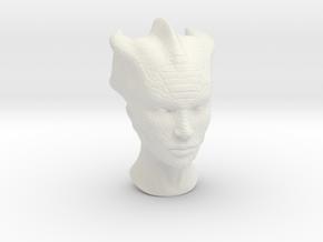 Silurian in 1:6 scale neutral in White Natural Versatile Plastic