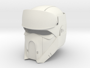 Shore trooper in White Natural Versatile Plastic