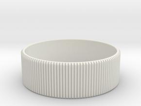 Sigma 50-100 f1.8 Focus Gear in White Natural Versatile Plastic