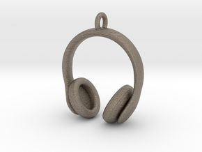 Headphones Jewel in Matte Bronzed-Silver Steel