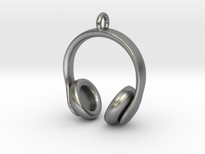 Headphones Jewel in Natural Silver