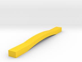 CUSTOM GUITAR GAUGE in Yellow Processed Versatile Plastic