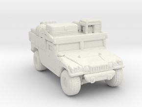 M1097a2 CUSV ver2 285 scale in White Natural Versatile Plastic