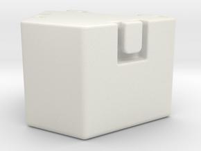 Z 006 Zusatzballastgewicht Liebherr 1:87 LTM 1160 in White Natural Versatile Plastic: 1:87 - HO