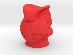 King Atlas Head in Red Processed Versatile Plastic