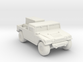 M1097a2 GEN 285 scale in White Natural Versatile Plastic