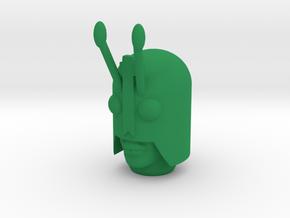 Magno Bug Head in Green Processed Versatile Plastic