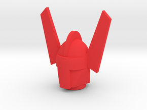 Magno Marvel Acroyear Head in Red Processed Versatile Plastic