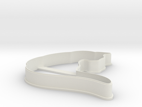 Cat 2 cookie cutter for professional in White Natural Versatile Plastic