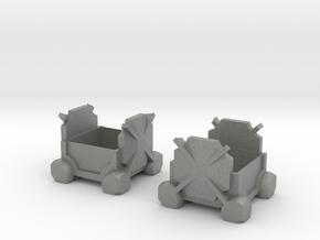 Comrade Cube in Gray Professional Plastic