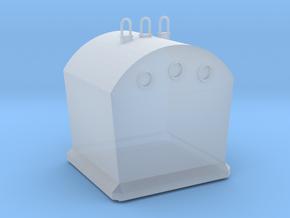 Glasbak NL H0 1;87 in Smooth Fine Detail Plastic: 1:87 - HO