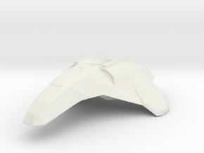 Valkyrie Fighter 1/72 in White Natural Versatile Plastic