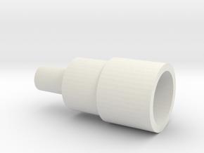 Grasshopper 2 Ultra G Gearbox Mount in White Natural Versatile Plastic