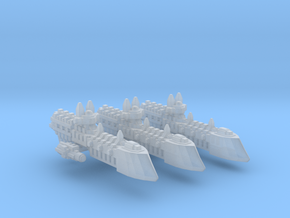 BFG Imperial frigate Sword Class/3 fleet scale in Smooth Fine Detail Plastic