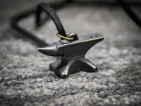 Anvil Pendant - Særlig in Matte Black Steel