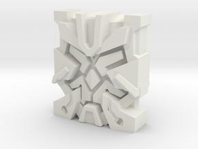 """Nexus Prime """"Leonine"""" Matrix Plate in White Natural Versatile Plastic"""