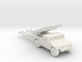 M1097a2 AIM-120B ver2 160 scale in White Natural Versatile Plastic