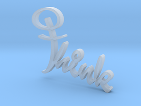 Think Cross - Sign in Smooth Fine Detail Plastic