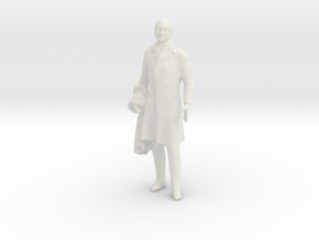 Printle F John Quincy Adams - 1/20 - wob in White Natural Versatile Plastic