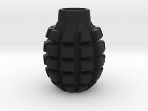 Frag Grenade Body in Black Natural Versatile Plastic
