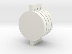 AEG motor spacer in White Natural Versatile Plastic