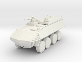 LAV 25a1 160 scale in White Natural Versatile Plastic