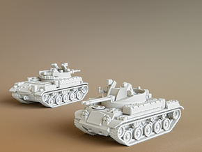 AA Gun M42 Duster Scale: 1:285 in Smooth Fine Detail Plastic