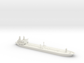 1/2400 Oil Tanker in White Natural Versatile Plastic