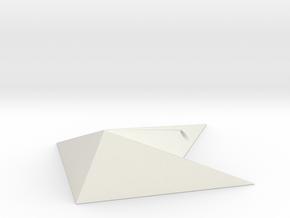 Megaman Star Force Pendant Ver 2 in White Premium Versatile Plastic: Small
