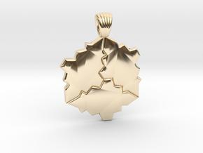 Tessellation [pendant] in 14K Yellow Gold