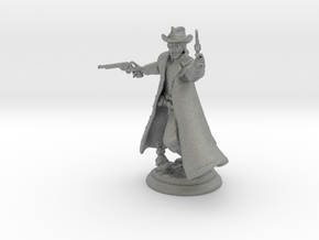 28mm Western Miniature in Gray PA12
