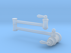 Pot Filler: Traditional (Stationary) in Smooth Fine Detail Plastic