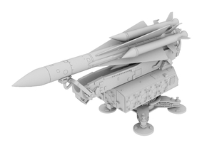 1:72 - SA5/Gammon Missile in White Natural Versatile Plastic