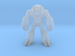 Stone_Golem_28mm in Smooth Fine Detail Plastic
