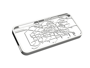 Paris metro map iPhone 5s case in White Natural Versatile Plastic