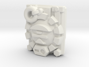 Combatron/Apocalypse Key Prime Master Plate in White Natural Versatile Plastic