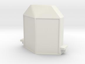 Livingston radiator for ICM Ford model T kits 1/24 in White Natural Versatile Plastic