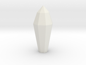 Necron Monolith Crystal Replacement Alternative #1 in White Natural Versatile Plastic
