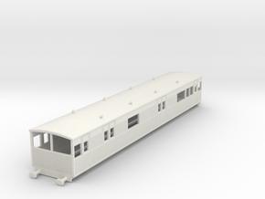 o-76-lyr-electric-baggage-car-3028 in White Natural Versatile Plastic