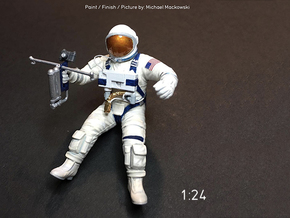 Gemini EVA Astronaut / 1:24 / Revell Kit Extension in Smooth Fine Detail Plastic