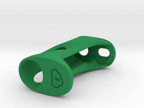 Y_mod_S SUPERSLIM 16 BODY in Green Processed Versatile Plastic