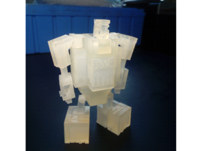 PocketBot in Smooth Fine Detail Plastic