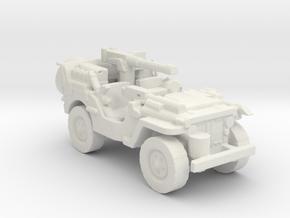 1/100 SAS Jeep ww2  2  in White Natural Versatile Plastic