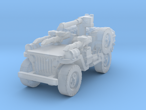 1/100 LRDG JEEP  4 in Smooth Fine Detail Plastic