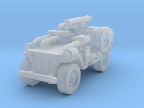 1/100 LRDG Jeep  6 in Smooth Fine Detail Plastic