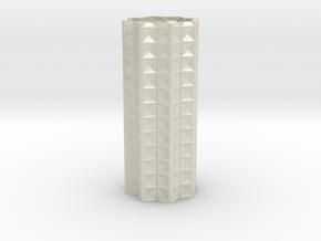 Vase Star1246 in Glossy Full Color Sandstone