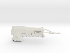1:12 Miniature Wyvern Ignition Great Sword - MHW in White Natural Versatile Plastic: 1:12